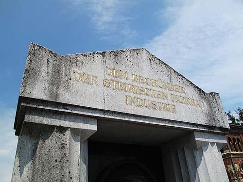 Das Grabmal des Johann Puch