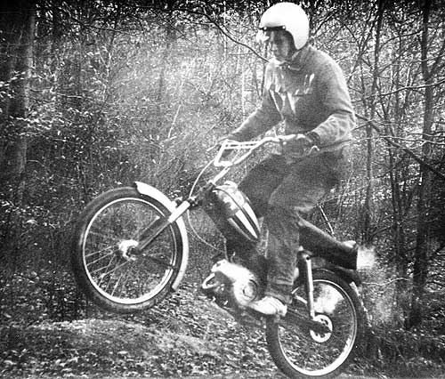 Tschubi ließ es krachen: Easy Rider going Off Road
