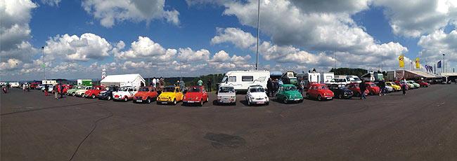 Pucherl am Nürburgring (Foto: Erik Kobus)