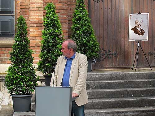 Karlheinz Rathkolb, der Leiter des Museums
