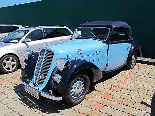 Ein Klassiker wie diesees Steyr Cabrio von Heinz und Lisl Mesicek ist