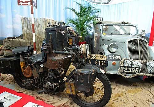 Fahrzeuge von Max Reisch (Foto: Puch Museum Judenburg)