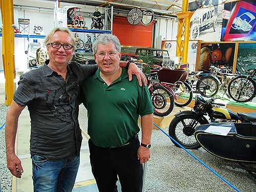Gutgelaunte Klassik-Liebhaber: Stephan Friedl (links) und Gerhard Plasonig