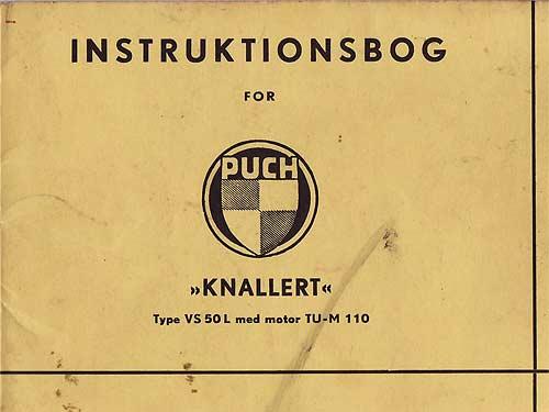 Dänisches Puch-Handbuch von Niels Teilbæks Website