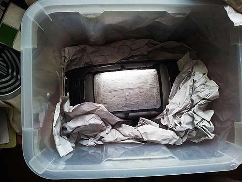 Der Puch U3 kommt aus dem Kisterl...