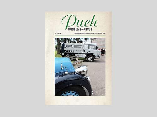 Auf dem Cover ein Steyr 120 Super mit Austro-Daimler-Kühlerfigur vor einem Pinzgauer