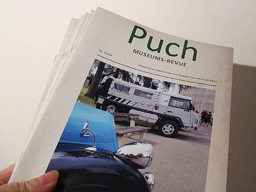 Nummer 2 der Puch Museums Revue