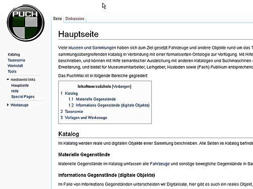 """Demnächst verfügbar: Das """"Puch-Wiki"""""""