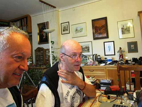 Wolfgang Wehap (links) und Walter Ulreich (Foto: Archiv Wehap)