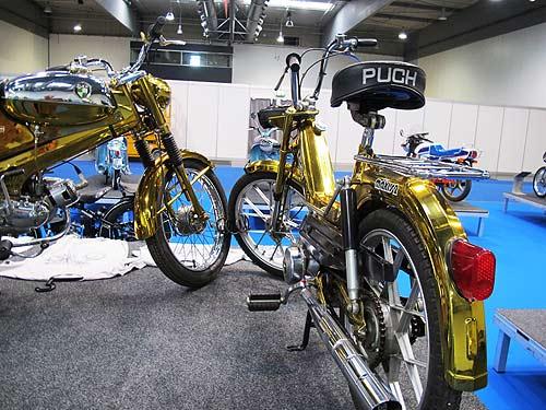Die goldenen Millionen-Mopeds