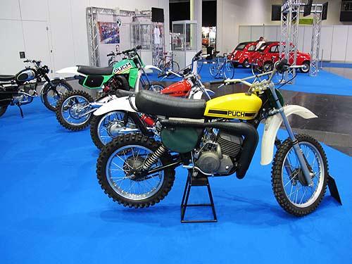 Die 250er von Moto Cross-Weltmeister Harry Everts