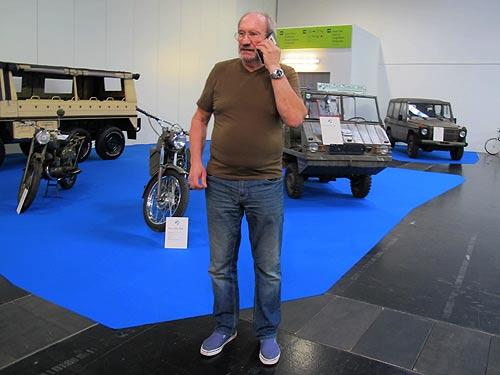 Museumsleiter Karlheinz Rathkolb