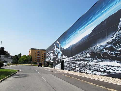 Wo der Puch G gebaut wird: Graz-Thondorf