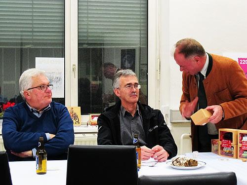 Von links: Franz Brenner, Wolfgang Zitz und Peter Piffl-Percevic