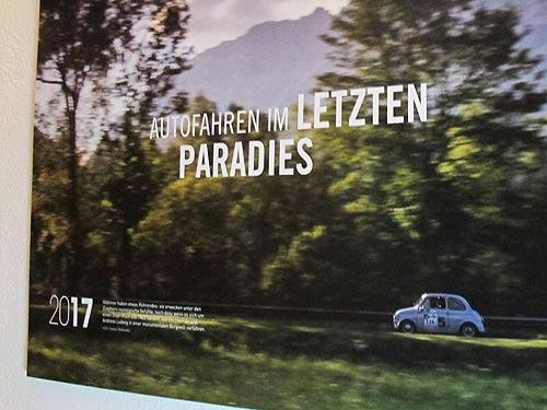 Thomas Ludwigs 650er auf dem Kalender-Cover
