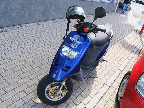 Der japanische Puch-Scooter: Typhoon