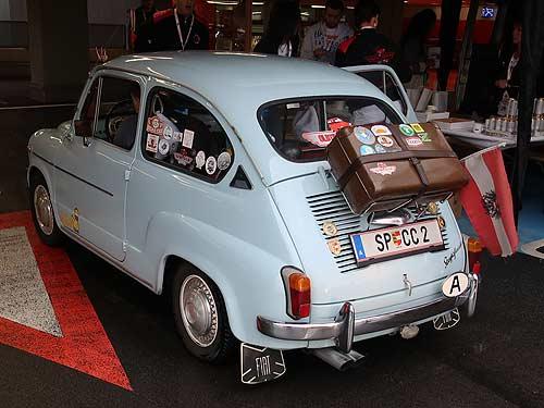 Diese österreichische Variante (Steyr-Fiat) ist in Kärnten zuhause