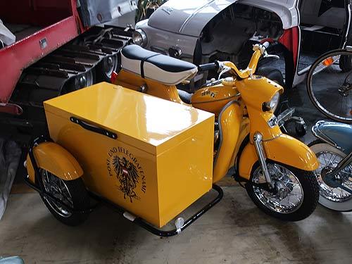 Die Cousine des Postler-Mopeds ;-)