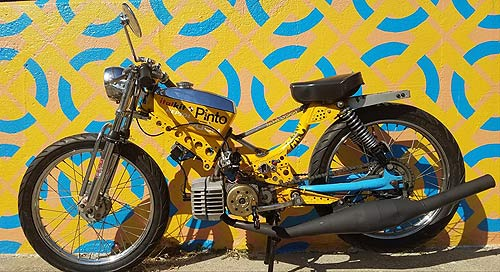 Customizing: Puch X 30, überarbeitet (Foto: Carl, Puch Lovers)