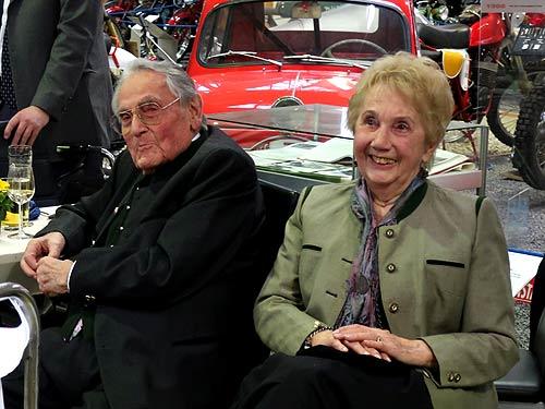 Das Ehepaar Rudolf, Zeugen einer enorm kontrastreichen Ära