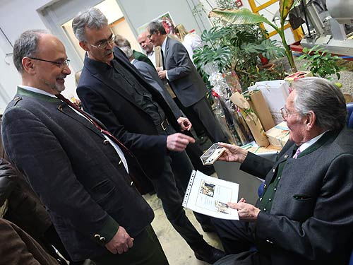 Von links: Markus Rudolf, Wolfgang Zitz, Egon Rudolf