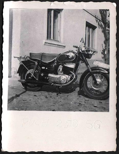 Das Motorrad des Tischlermeisters