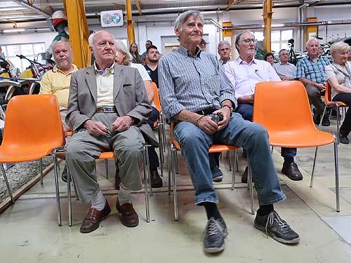Harald Sitter (links) und Karlheinz Scherhag